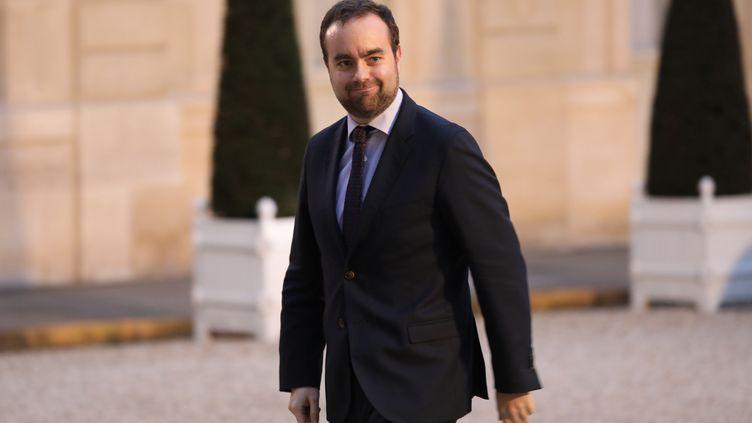Le secrétaire d'Etatauprès du ministre de la transition écologique et solidaire, Sébastien Lecornu, le 30 janvier 2018. (AFP)