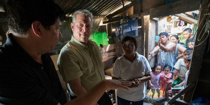 """Al Gore dans """"Une suite qui dérange - le temps de l'action"""" de Bonni Cohen et Jon Shenk  (Paramount Pictures France)"""