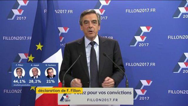 Regardez en intégralité la réaction de François Fillon