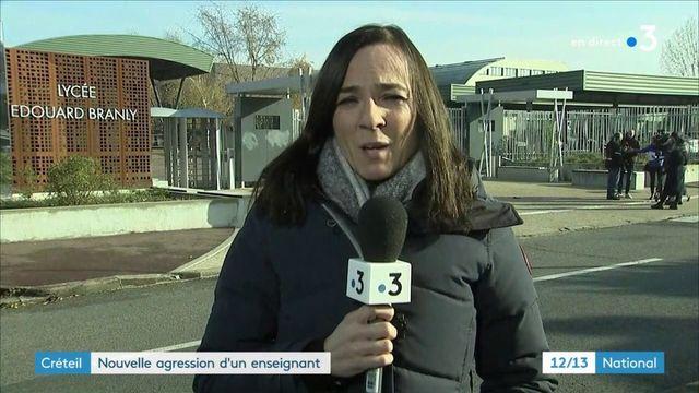 Lycée de Créteil : nouvelle agression sur un professeur