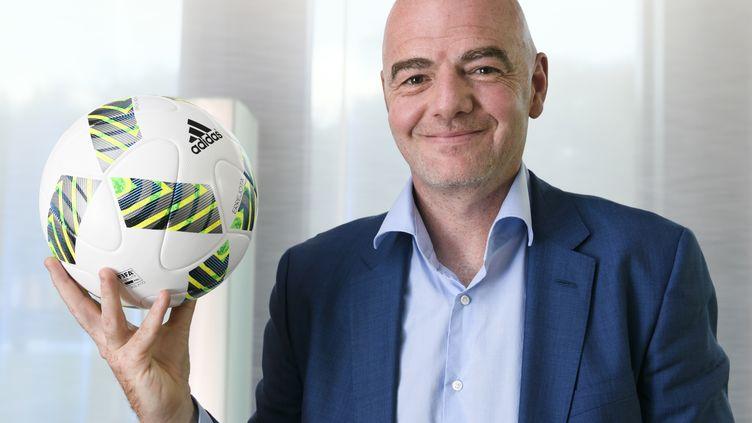 Deux ballons se cachent sur cette photo (FABRICE COFFRINI / AFP)