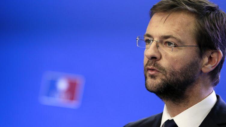 Jérôme Lavrilleux, alors directeur de cabinet de Jean-François Copé, le 22 novembre 2012. (KENZO TRIBOUILLARD / AFP)