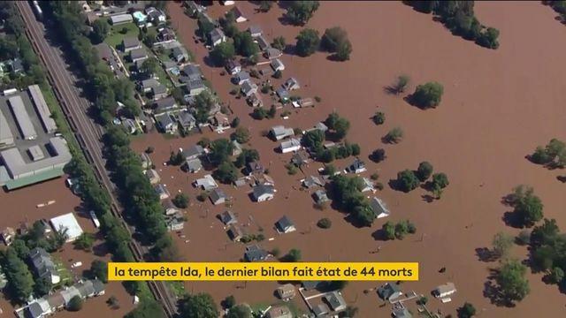 États-Unis : la tempête Ida a ravagé une partie du pays