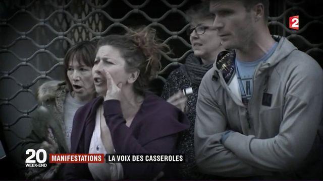 Manifestations : le retour des casseroles