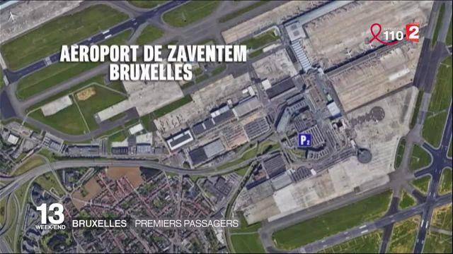 Attentats de Bruxelles : l'aéroport reprend son activité