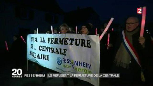 Fessenheim : les habitants refusent la fermeture de la centrale