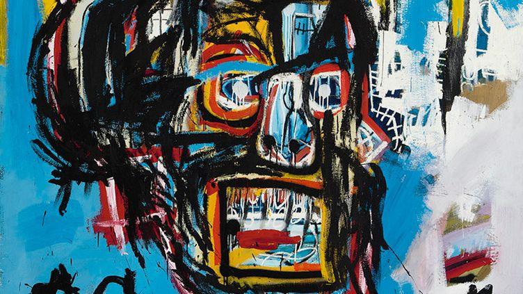 Jean-Michel Basquiat, Untitled, 1982. Vendu aux enchères à New York, mai 2017  (Sotheby's)