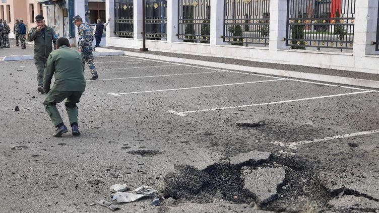 Le Haut-Karabakh sous les bombes. (CLAUDE BRUILLOT / REDACTION INTERNATIONALE / RADIO FRANCE)