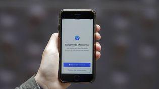 L'application Messenger de Facebook. (JEFF CHIU / AP)