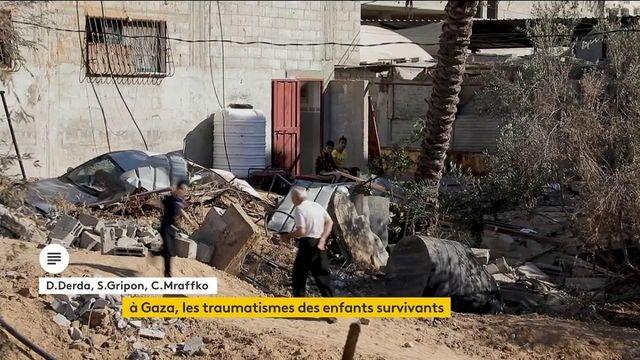 Gaza : après 11 jours de terreur, le traumatisme des enfants survivants