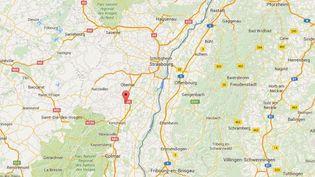 Un enfant de 18 mois a été mortellement mordu par un chien à Epfig, dans le Bas-Rhin, le 6 mai 2016. (GOOGLE MAPS)