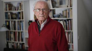 L'historien Zeev Sternhell, le 2 février 2015 à Jérusalem. (THOMAS COEX / AFP)