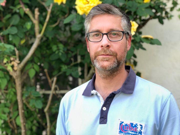 Philipp, chef d'entreprise allemand qui vit à Kehl. (MATTHIEU MONDOLONI / FRANCEINFO)
