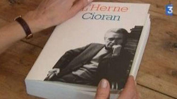 Exposition autour de l'écrivain Emile Cioran  (Culturebox)