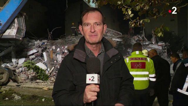 Albanie : les secours sont à l'oeuvre après le tremblement de terre
