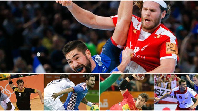 Le Danemark, l'Allemagne, la Croatie, l'Espagne et la Pologne, cinq candidats au titre mondial en 2017