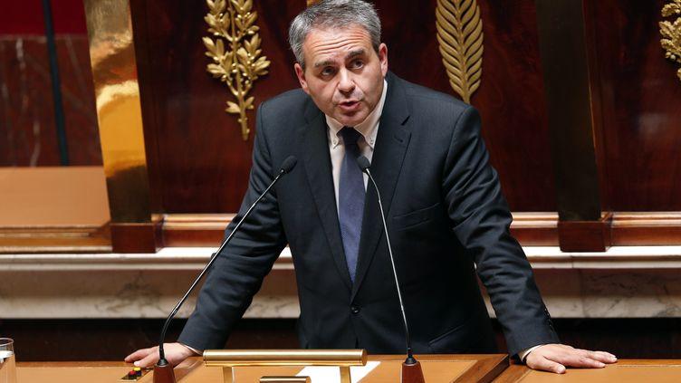 Xavier Bertrand, député UMPde l'Aisne, à l'Assemblée nationale, à Paris, le 17 juillet 2014. (FRANCOIS GUILLOT / AFP)
