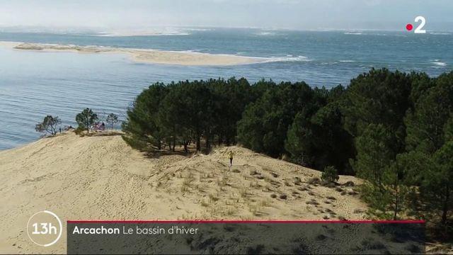 Bassin d'Arcachon : l'hiver, la Dune du Pilat retrouve son aspect sauvage