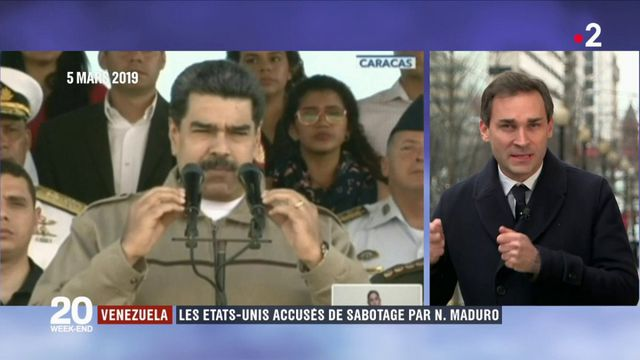 Venezuela : les États-Unis accusés de sabotage par Nicolas Maduro