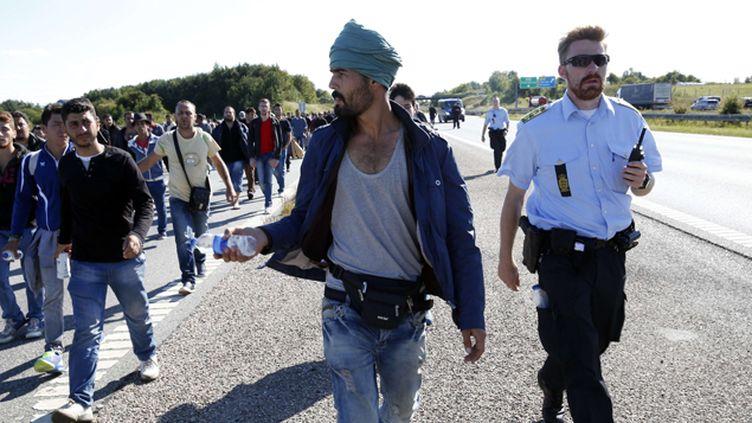 (Un accord politique a été conclu au Danemark sur la confiscation des biens des migrants © AP/SIPA/LEHMANN MARTIN)