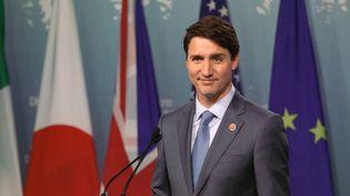 Le Premier ministre canadien Justin Trudeau, le 9 juin 2018 à La Malbaie, au Québec (Canada). (DAVID HIMBERT / HANS LUCAS / AFP)