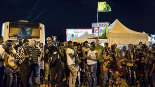 Cayenne, en Guyane française, le 25 mars 2017. (JODY AMIET / AFP)