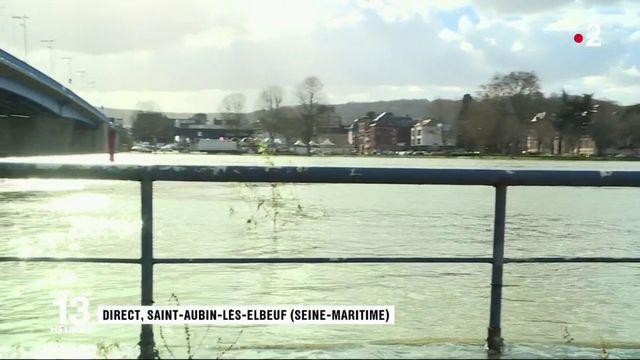 Inondations : les marées préoccupent sur les bords de Seine en Normandie