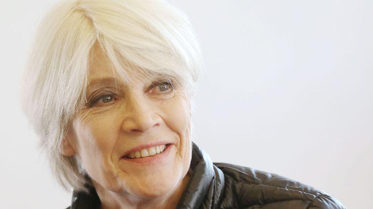 Françoise Hardy, le 1er février 2016. (OLIVIER LEJEUNE / LE PARISIEN / MAXPPP)