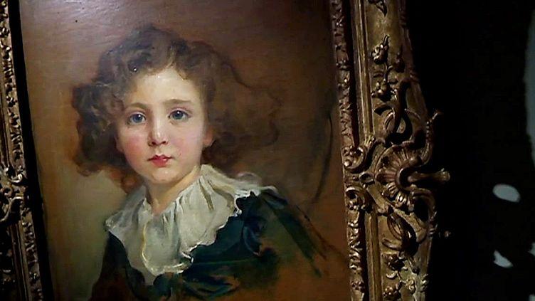 Un des portraits d'enfants de la collection Gramont  (France 3 / Culturebox)