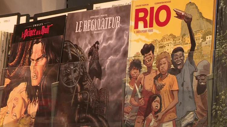 En 2017, 5090 nouveaux titres BD ont été publiés.  (France 2 / Culturebox)