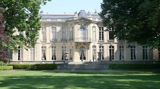 L'Hotel de Matignon, 56 rue de varenne, à Paris. (GILLES TARGAT/AFP)