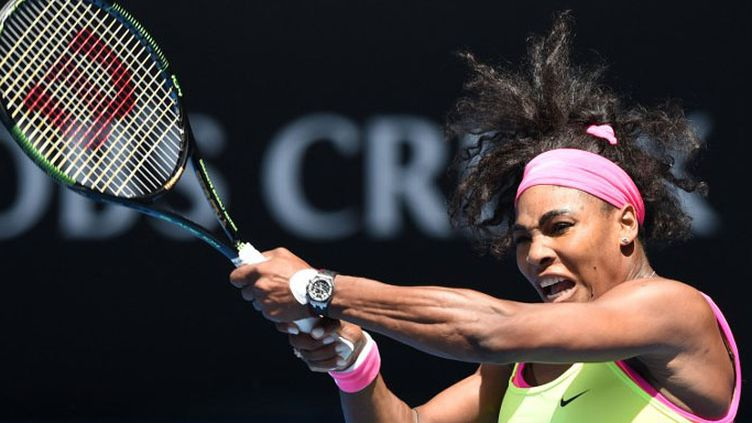 Serena Williams (MANAN VATSYAYANA / AFP)