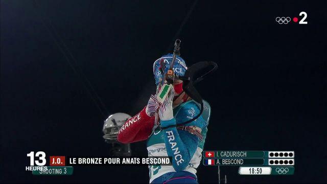 JO 2018 : la biathlète Anaïs Bescond remporte le bronze en poursuite