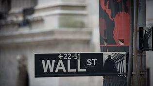 Le krach annoncé en cas de victoire de Donald Trump n'a pas eu lieu à la Bourse de New York (Etats-Unis). (Bryan R. Smith / AFP)