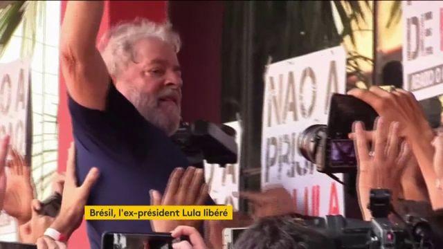 Brésil : Lula libéré