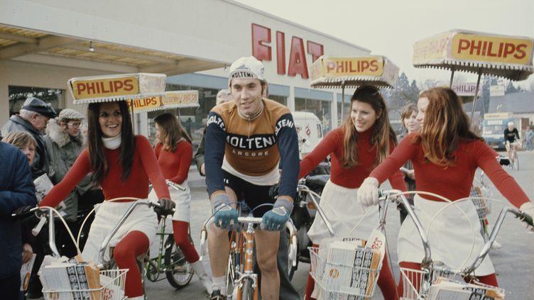 Eddy Merckx en 1971. (ROLLS PRESS / POPPERFOTO / GETTY IMAGES)