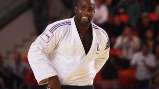 Le Français Teddy Riner aux championnats du monde de judo àAstana (Kazakhstan), le 29 août 2015. (MAXPPP)