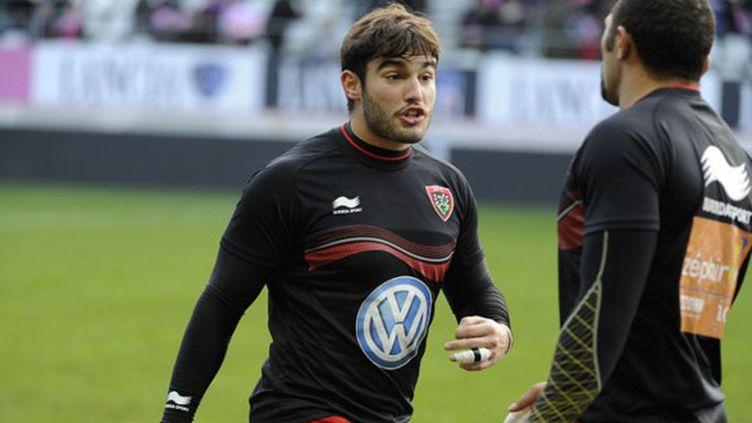 Le joueur de Toulon Alexis Palisson