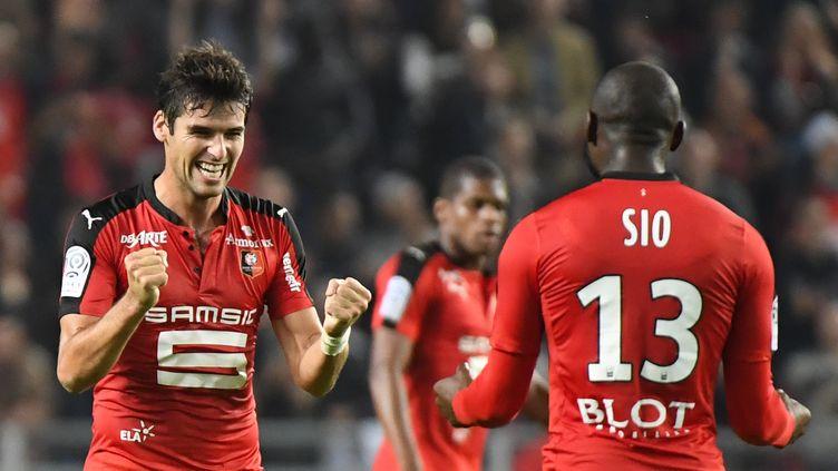 Yoann Gourcuff a marqué son troisième de la saison. (DAMIEN MEYER / AFP)