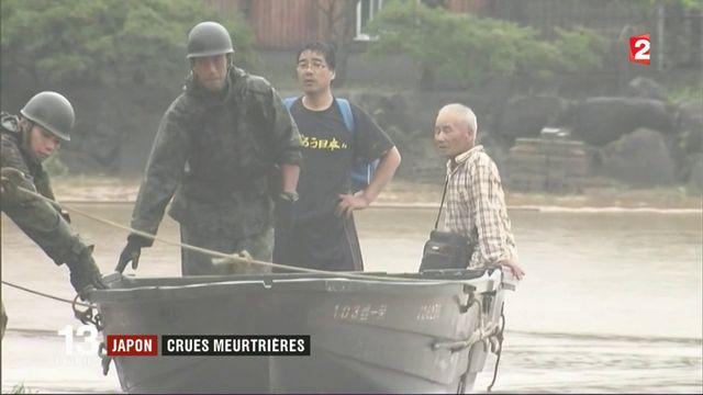 Pluies meurtrières au Japon