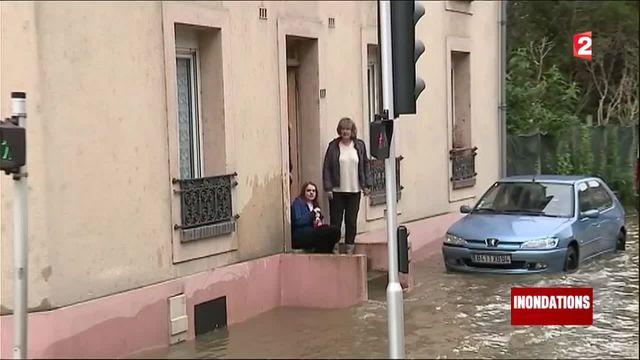 Inondations : l'armée en renfort à Villeneuve-Saint-Georges