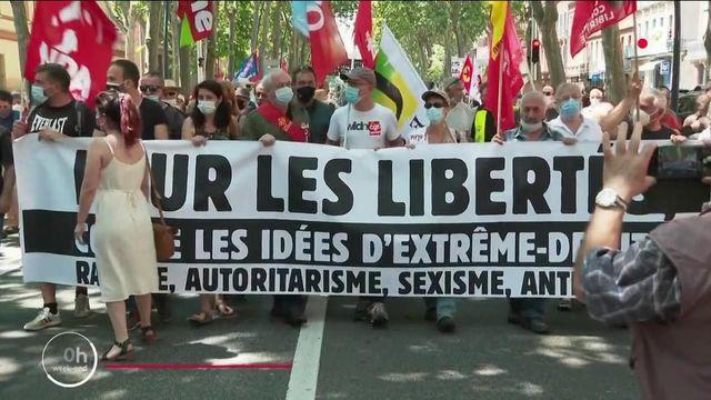 Marche des libertés : des manifestations dans 140 villes de France