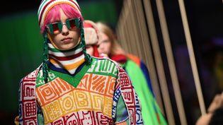 Benetton pap ah 2019-20 à la Fashion Week de Milan
