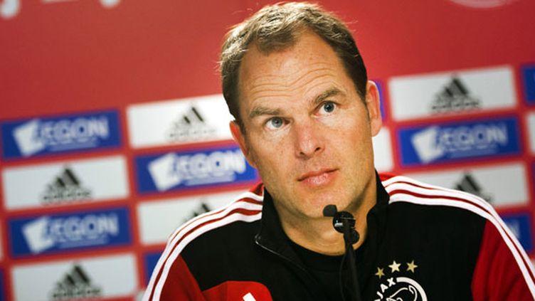 L'entraîneur néerlandais de l'Ajax Amsterdam, Frank De Boer