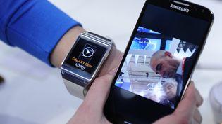 Aux États-Unis, la grand-messe annuelle de l'innovationen matière d'électronique se déroule en ce moment à Las Vegas. (JOSEP LAGO / AFP)