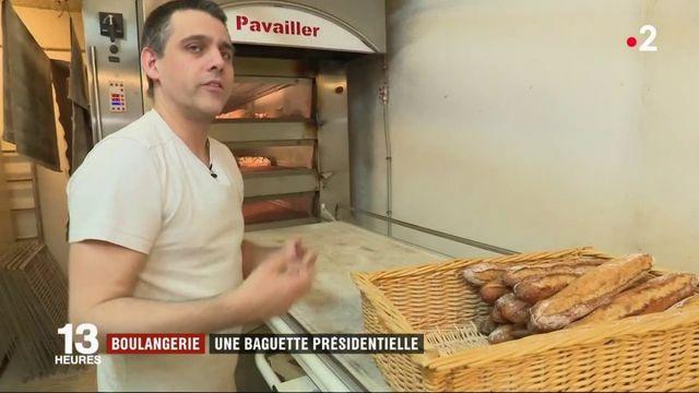 Paris : la baguette présidentielle