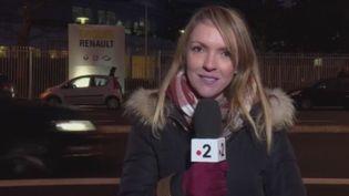 Bruno Le Maire a annoncé jeudi 24 janvier depuis le Forum économique de Davos que le PDG du constructeur français Renault, toujours incarcéré au Japon, venait de démissionner. (FRANCE 2)