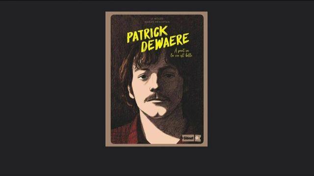 Culture : la vie de Patrick Dewaere racontée en bande dessinée