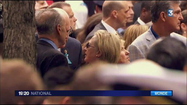 États-Unis : le malaise d'Hillary Clinton qui donne raison à Donald Trump