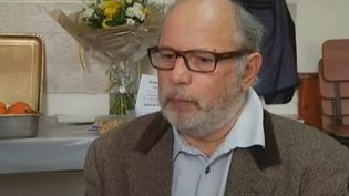 Samuel Sandler, mardi 27 mars 2012 à Jérusalem (Israël), aborde ses moments de douleur après la mort de son fils Jonathan Sandler et de deux de ses petits-enfants à Toulouse, tués par MohamedMerah. (CAPTURE D'ÉCRAN FRANCE 2)